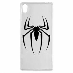 Чехол для Sony Xperia Z5 Spider Man Logo - FatLine