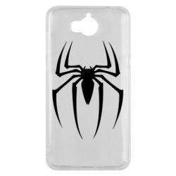 Чехол для Huawei Y5 2017 Spider Man Logo - FatLine