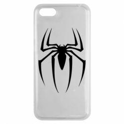 Чехол для Huawei Y5 2018 Spider Man Logo - FatLine