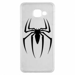 Чехол для Samsung A3 2016 Spider Man Logo - FatLine