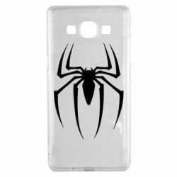 Чехол для Samsung A5 2015 Spider Man Logo - FatLine