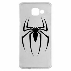 Чехол для Samsung A5 2016 Spider Man Logo - FatLine