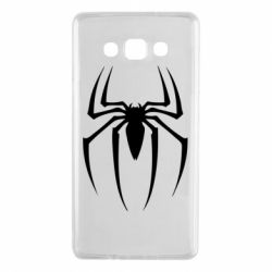 Чехол для Samsung A7 2015 Spider Man Logo - FatLine