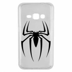 Чехол для Samsung J1 2016 Spider Man Logo - FatLine