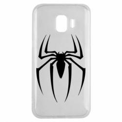 Чехол для Samsung J2 2018 Spider Man Logo - FatLine