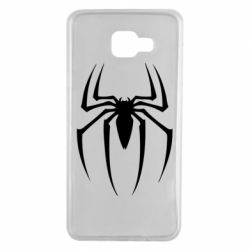 Чехол для Samsung A7 2016 Spider Man Logo - FatLine