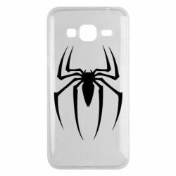Чехол для Samsung J3 2016 Spider Man Logo - FatLine