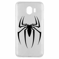 Чехол для Samsung J4 Spider Man Logo - FatLine