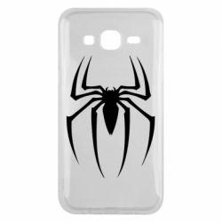 Чехол для Samsung J5 2015 Spider Man Logo - FatLine