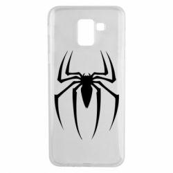 Чехол для Samsung J6 Spider Man Logo - FatLine