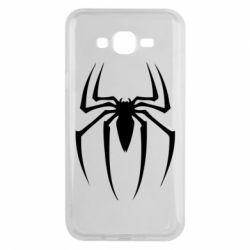 Чехол для Samsung J7 2015 Spider Man Logo - FatLine