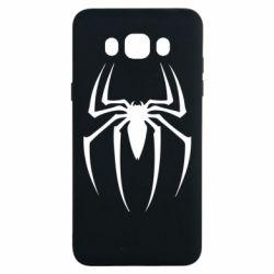 Чехол для Samsung J7 2016 Spider Man Logo - FatLine