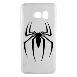 Чехол для Samsung S6 EDGE Spider Man Logo - FatLine