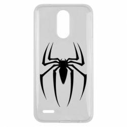 Чехол для LG K10 2017 Spider Man Logo - FatLine