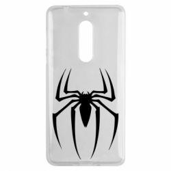 Чехол для Nokia 5 Spider Man Logo - FatLine