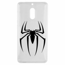 Чехол для Nokia 6 Spider Man Logo - FatLine