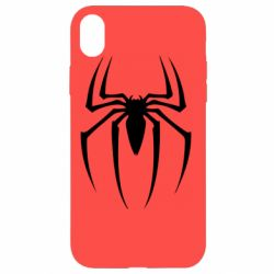 Чехол для iPhone XR Spider Man Logo - FatLine