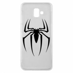 Чехол для Samsung J6 Plus 2018 Spider Man Logo - FatLine