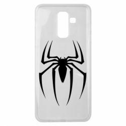 Чехол для Samsung J8 2018 Spider Man Logo - FatLine