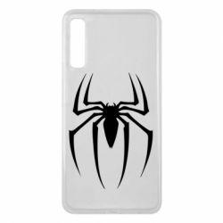 Чехол для Samsung A7 2018 Spider Man Logo - FatLine