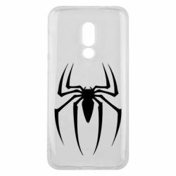 Чехол для Meizu 16 Spider Man Logo - FatLine