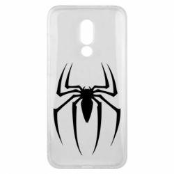 Чехол для Meizu 16x Spider Man Logo - FatLine