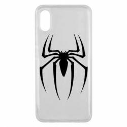 Чехол для Xiaomi Mi8 Pro Spider Man Logo - FatLine