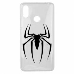 Чехол для Xiaomi Mi Max 3 Spider Man Logo - FatLine