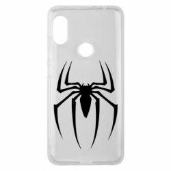 Чехол для Xiaomi Redmi Note 6 Pro Spider Man Logo - FatLine