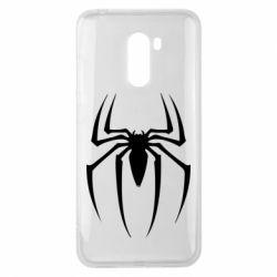 Чехол для Xiaomi Pocophone F1 Spider Man Logo - FatLine