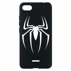 Чехол для Xiaomi Redmi 6A Spider Man Logo - FatLine