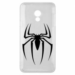 Чехол для Meizu 15 Lite Spider Man Logo - FatLine