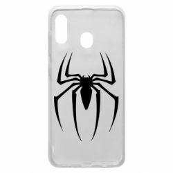 Чехол для Samsung A20 Spider Man Logo