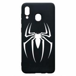 Чехол для Samsung A30 Spider Man Logo