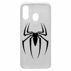 Чехол для Samsung A40 Spider Man Logo