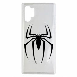 Чехол для Samsung Note 10 Plus Spider Man Logo