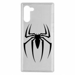 Чехол для Samsung Note 10 Spider Man Logo