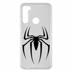 Чехол для Xiaomi Redmi Note 8 Spider Man Logo