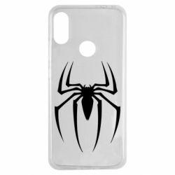 Чехол для Xiaomi Redmi Note 7 Spider Man Logo