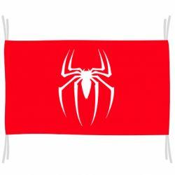 Флаг Spider Man Logo
