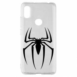 Чехол для Xiaomi Redmi S2 Spider Man Logo