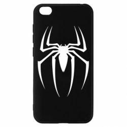 Чехол для Xiaomi Redmi Go Spider Man Logo