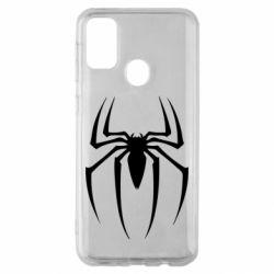 Чехол для Samsung M30s Spider Man Logo