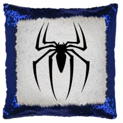 Подушка-хамелеон Spider Man Logo