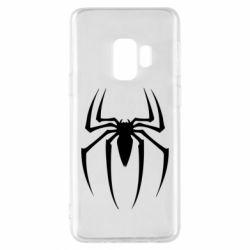 Чехол для Samsung S9 Spider Man Logo - FatLine