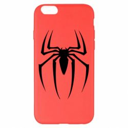 Чехол для iPhone 6 Plus/6S Plus Spider Man Logo - FatLine