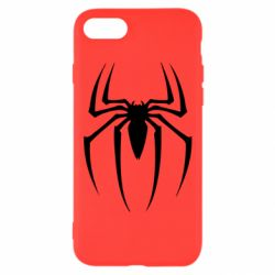Чехол для iPhone 7 Spider Man Logo - FatLine