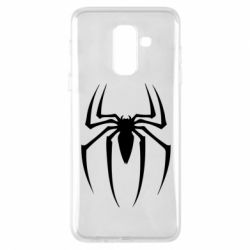 Чехол для Samsung A6+ 2018 Spider Man Logo - FatLine