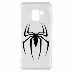 Чехол для Samsung A8 2018 Spider Man Logo - FatLine