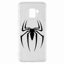 Чехол для Samsung A8+ 2018 Spider Man Logo - FatLine